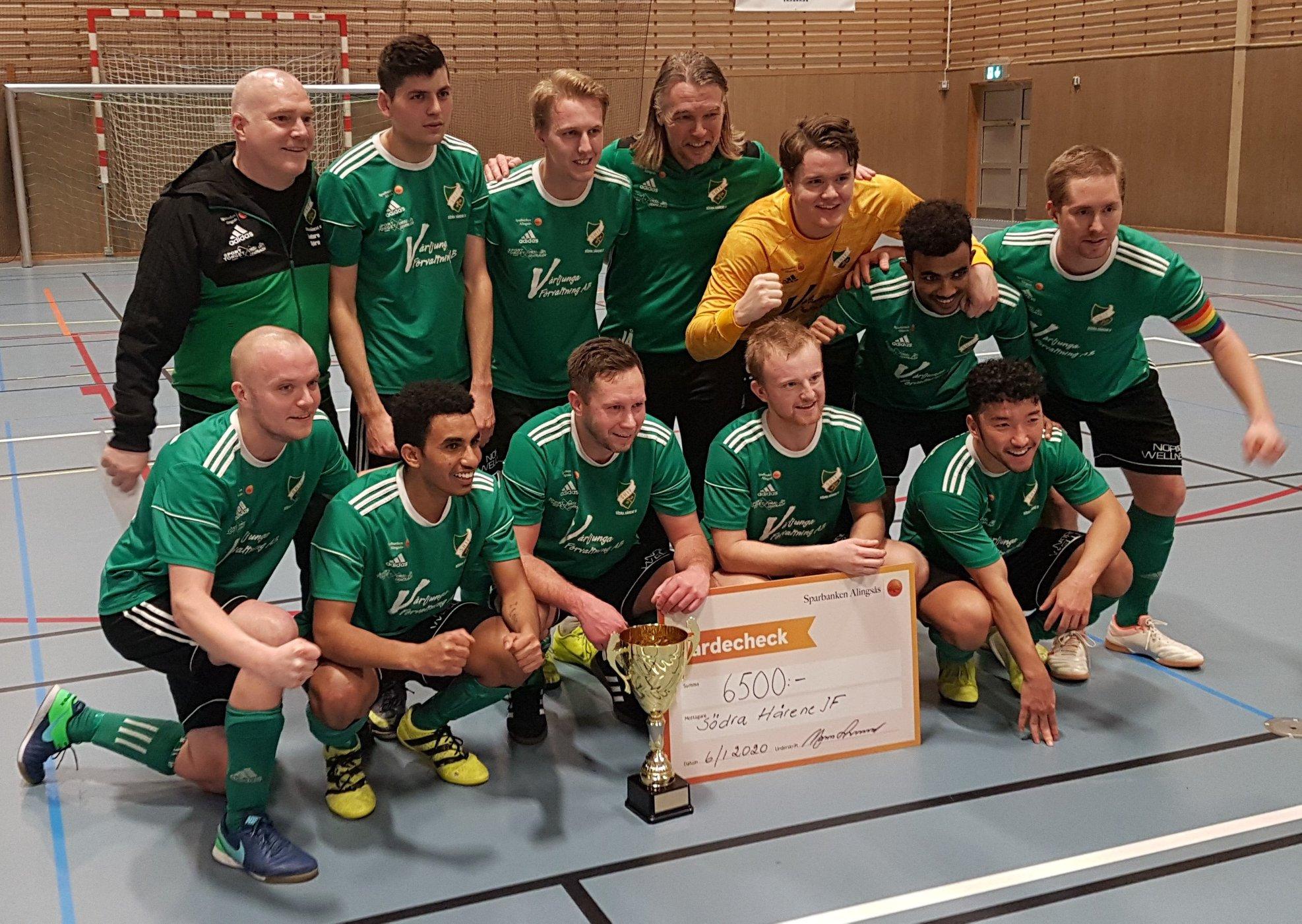 Foto på SHIF:s herrar. Vinnare av Sparbanken Cup 2020.